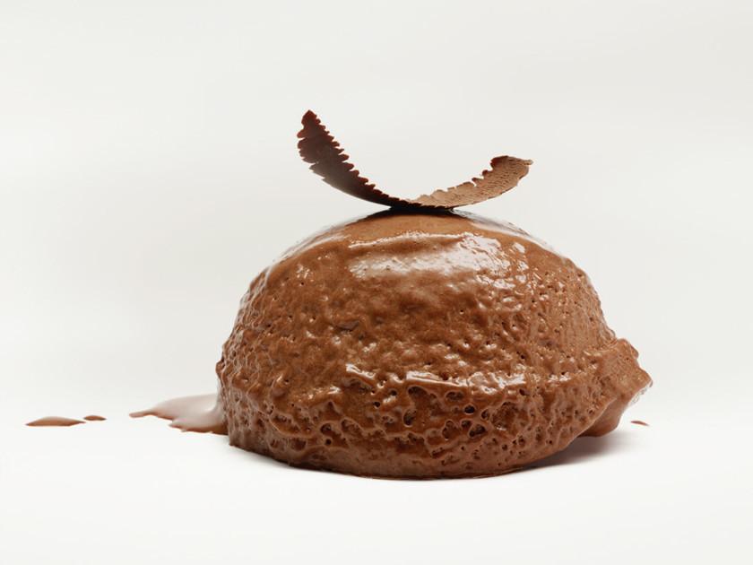 黑巧克力慕斯 與可可豆奶油餅乾