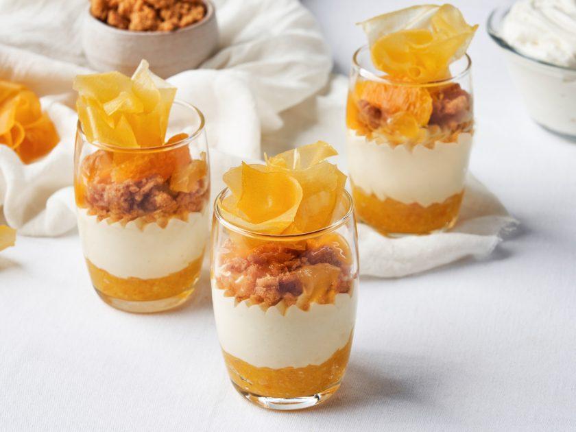 黃金鄉橘子小杯蛋糕