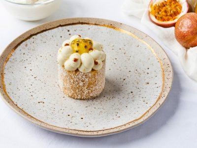 日本柚子百香果蛋糕